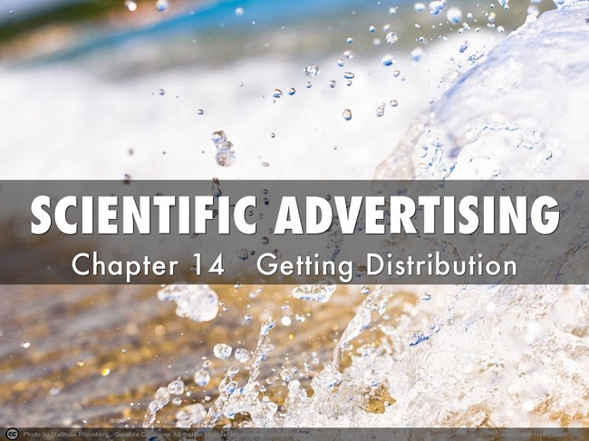 SCIENTIFIC ADVERTISING cp14 Gettng Distribution