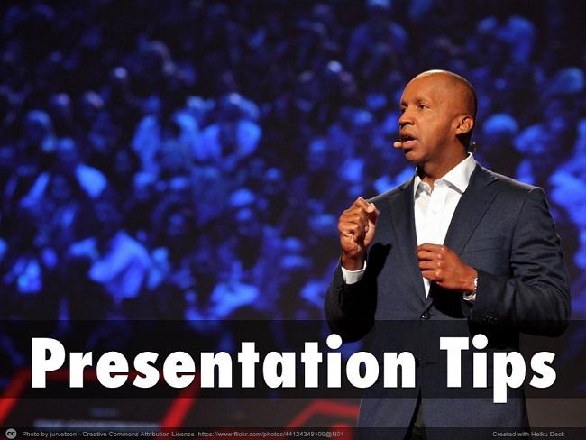 Presentaton Tips