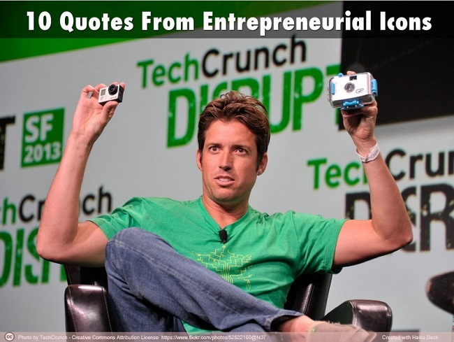 10 quotes from entrepreneurial icons